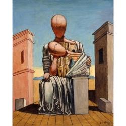 Antigone consolatrice, 1973, Giorgio de Chirico