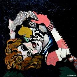 Les amoureux après la pluie, Francis Picabia