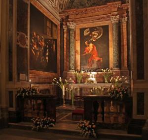 La Chapelle Contarelli, peintures du Caravage