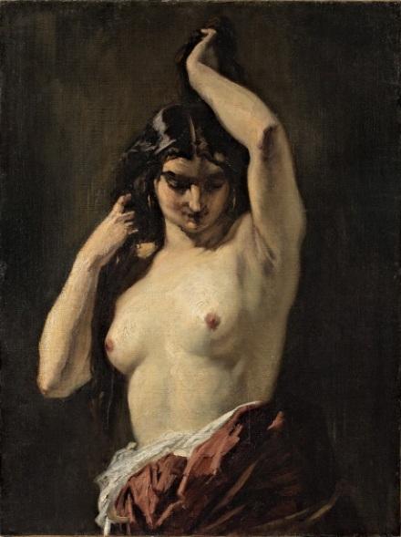 Henri Regnault : La Gitane aux seins nus