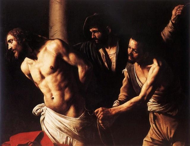 Le Caravage : La flagellation du christ, 1607