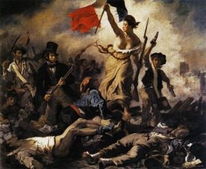 Eugene De La Croix, La liberte guidant le peuple