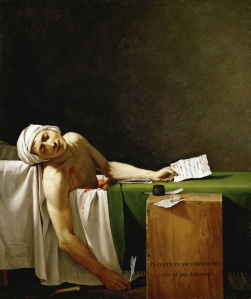 Jacques-Louis David La Mort de Marat