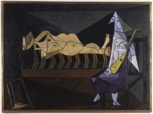 L'Aubade, Pablo Picasso. 1942