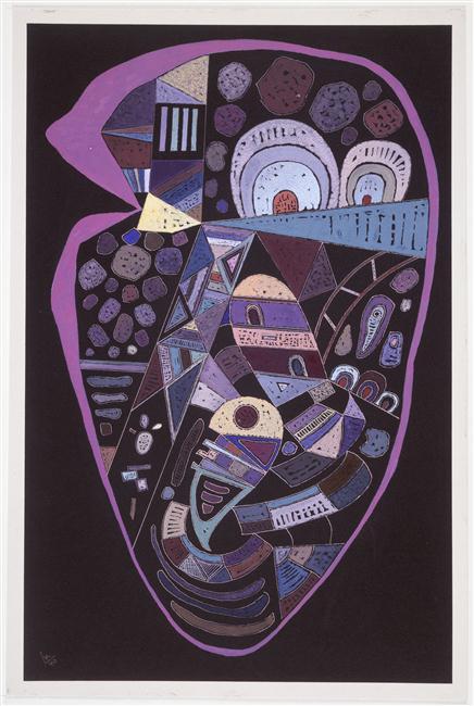Vassily Kandinsky, Sans titre, 1940
